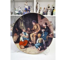 Albert Anker plate Germany