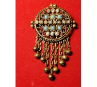 Brooch with pendants of Czechoslovakia