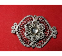 Brooch USSR filigree