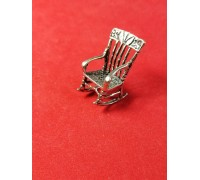Rocking-chair silver 800 of test of Europe