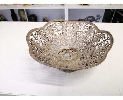 Candy plate filigree