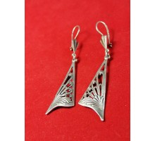 Earrings 925 silver USSR