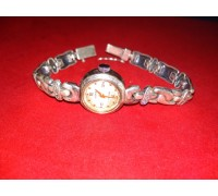 """Watch """"Seagull"""" with a bracelet silver"""
