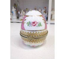 Casket egg regal porcelain