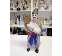 Cossack shtof with barrel porcelain Polonsky ZHK