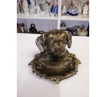 Setter dog ashtray silumin of the USSR