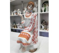 Embroiderer Kiev porcelain factory from the 70s